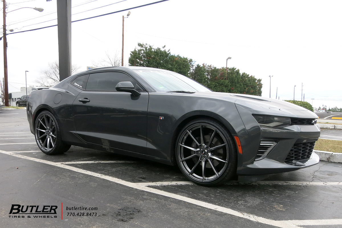 Chevrolet Camaro with 22in Savini SV-F4 Wheels