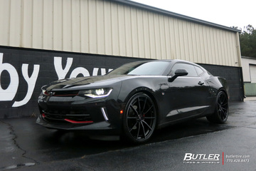 Chevrolet Camaro with 22in Savini SV-F 1 Wheels