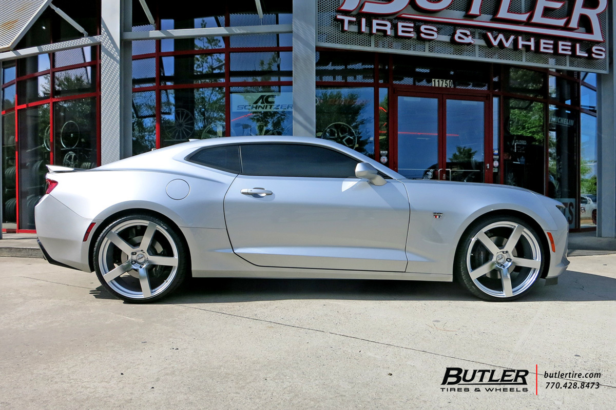 Chevrolet Camaro With 22in Tsw Panorama Wheels Exclusively