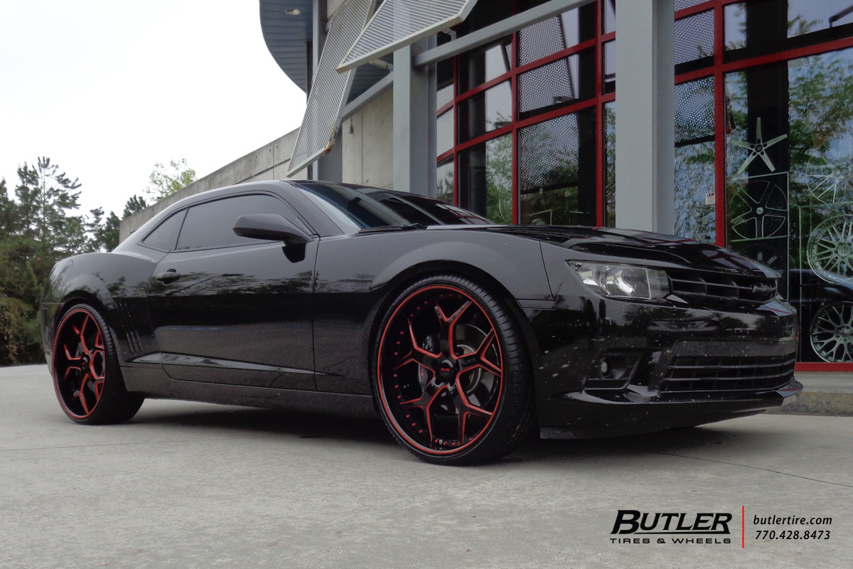 Chevrolet Camaro With 24in Asanti Af164 Wheels Exclusively