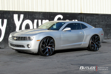Chevrolet Camaro with 24in Lexani Ghost Wheels
