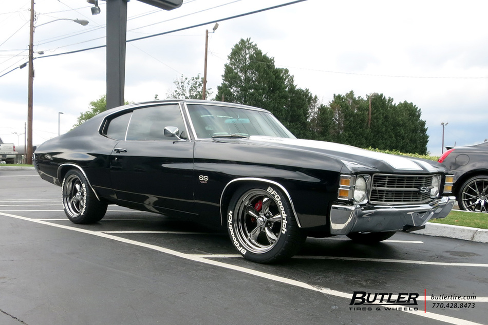 Chevrolet Chevelle with 18in American Racing Torque Thrust ...