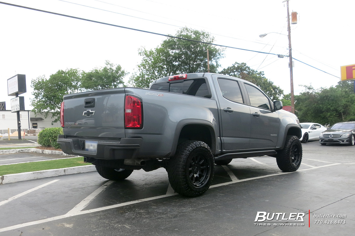 Chevrolet Colorado with 17in Black Rhino Chase Wheels