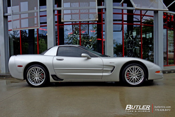 Chevrolet Corvette with 19in Cray Hawk Wheels