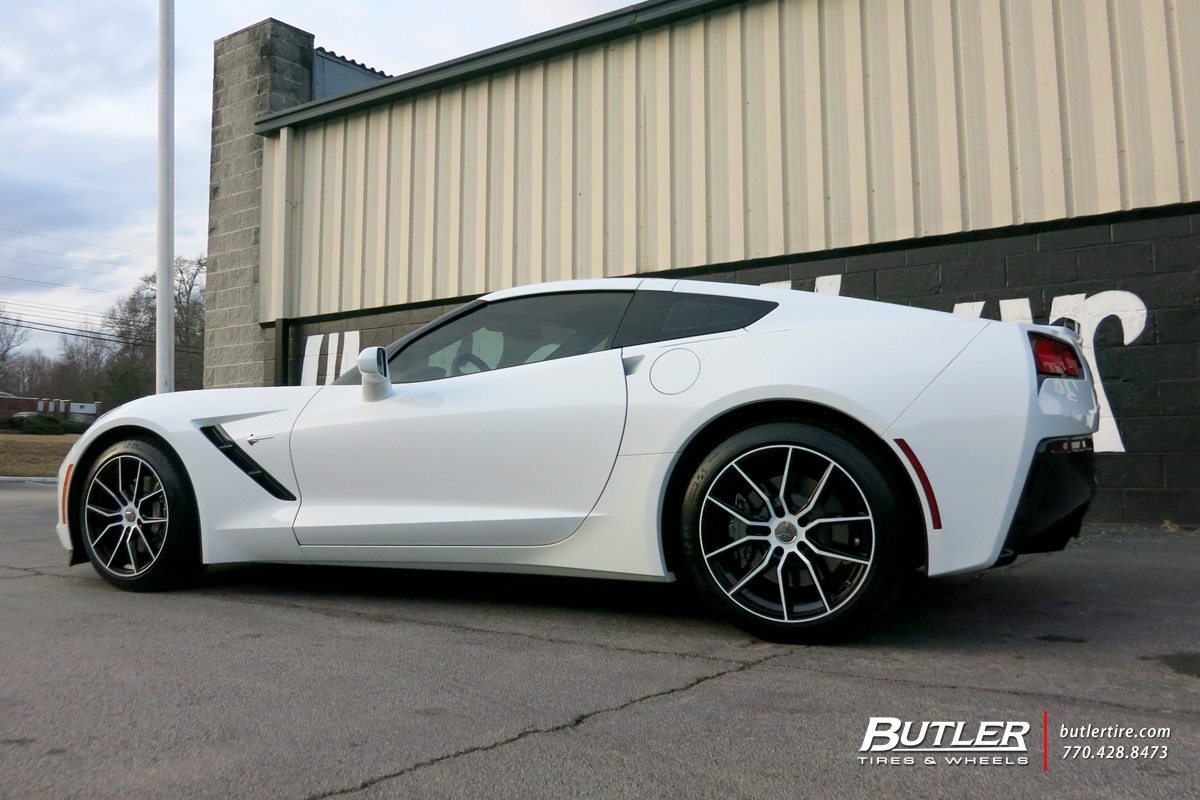 Chevrolet Corvette with 19in Cray Spider Wheels