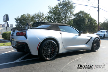 Chevrolet Corvette with 20in Cray Astoria Wheels