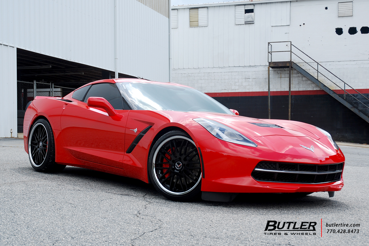 Chevrolet Corvette with 20in Cray Hawk Wheels