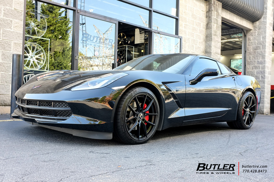 Chevrolet Corvette with 20in Cray Spider Wheels exclusively from Butler Tires and Wheels in ...