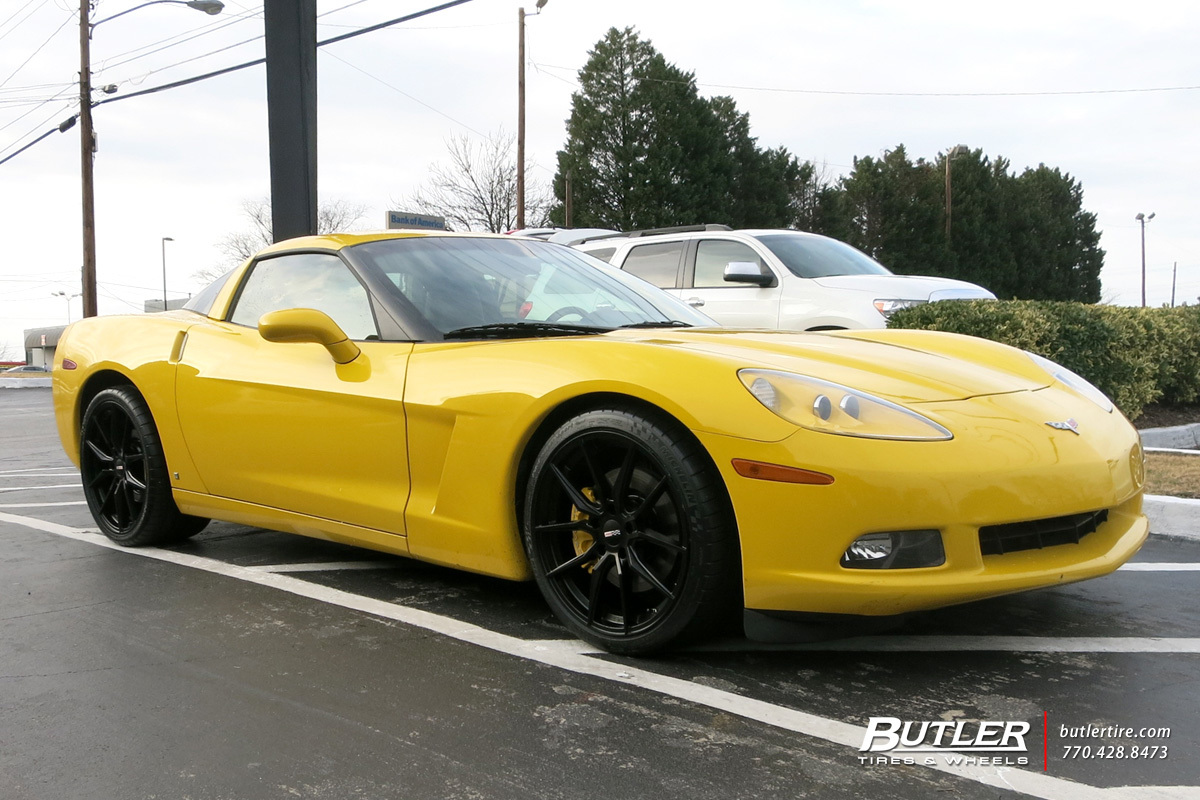 Chevrolet Corvette with 20in Cray Spider Wheels