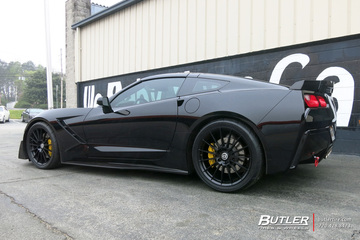 Chevrolet Corvette with 20in HRE FF15 Wheels