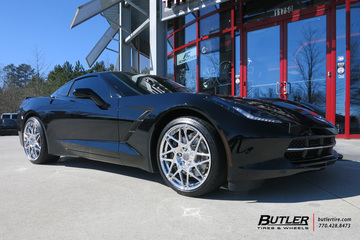 Chevrolet Corvette with 20in Niche Alpine Wheels