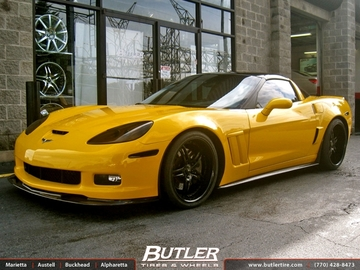 Chevrolet Corvette with 20in Savini SV23 Wheels