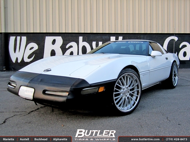 Chevrolet Corvette with 20in Vellano VSM Wheels