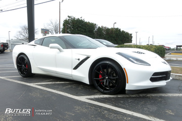 Chevrolet Corvette with 20in XO Verona Wheels