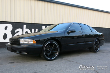 Chevrolet Impala with 20in Niche Misano Wheels