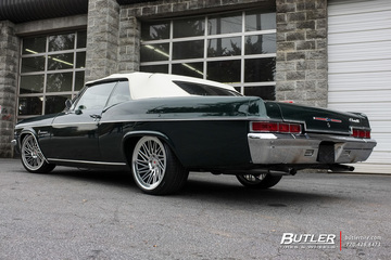 Chevrolet Impala with 20in Vossen LC-105T Wheels