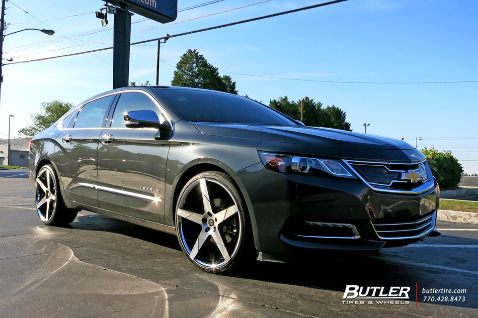 Chevrolet Impala with 22in Lexani Invictus Wheels ...
