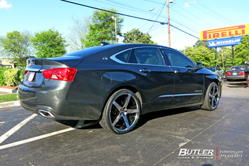 Chevrolet Impala with 22in Lexani Invictus Wheels