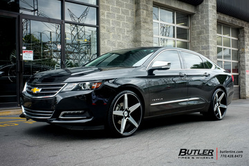 Chevrolet Impala with 22in Savini BM11 Wheels