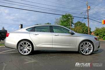 Chevrolet Impala with 22in TSW Gatsby Wheels