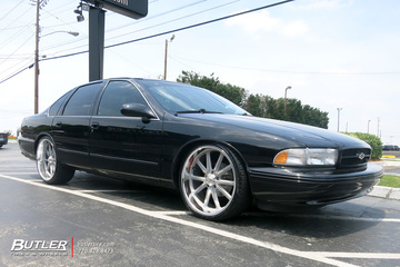 Chevrolet Impala with 22in US Mags Rambler Wheels