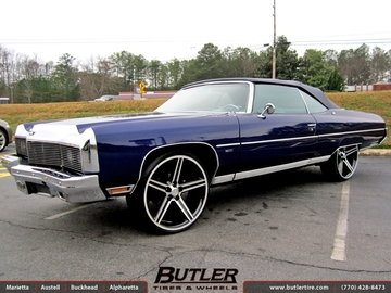 Chevrolet Impala with 24in Iroc Wheels