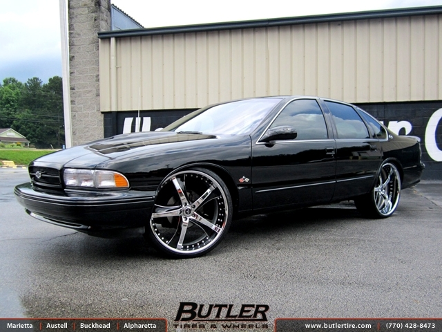 Chevrolet Impala with 24in Savini SV29 Wheels
