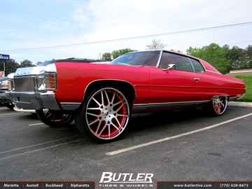 Chevrolet Impala with 26in Forgiato Maglia Wheels