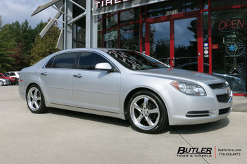 Chevrolet Malibu with 19in TSW Jarama Wheels