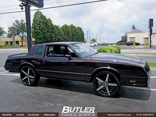 Chevrolet Monte Carlo With 22in Lexani R Four Wheels