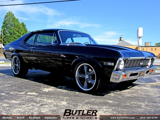 Chevrolet Nova With 20in Boss 338 Wheels Exclusively From Butler