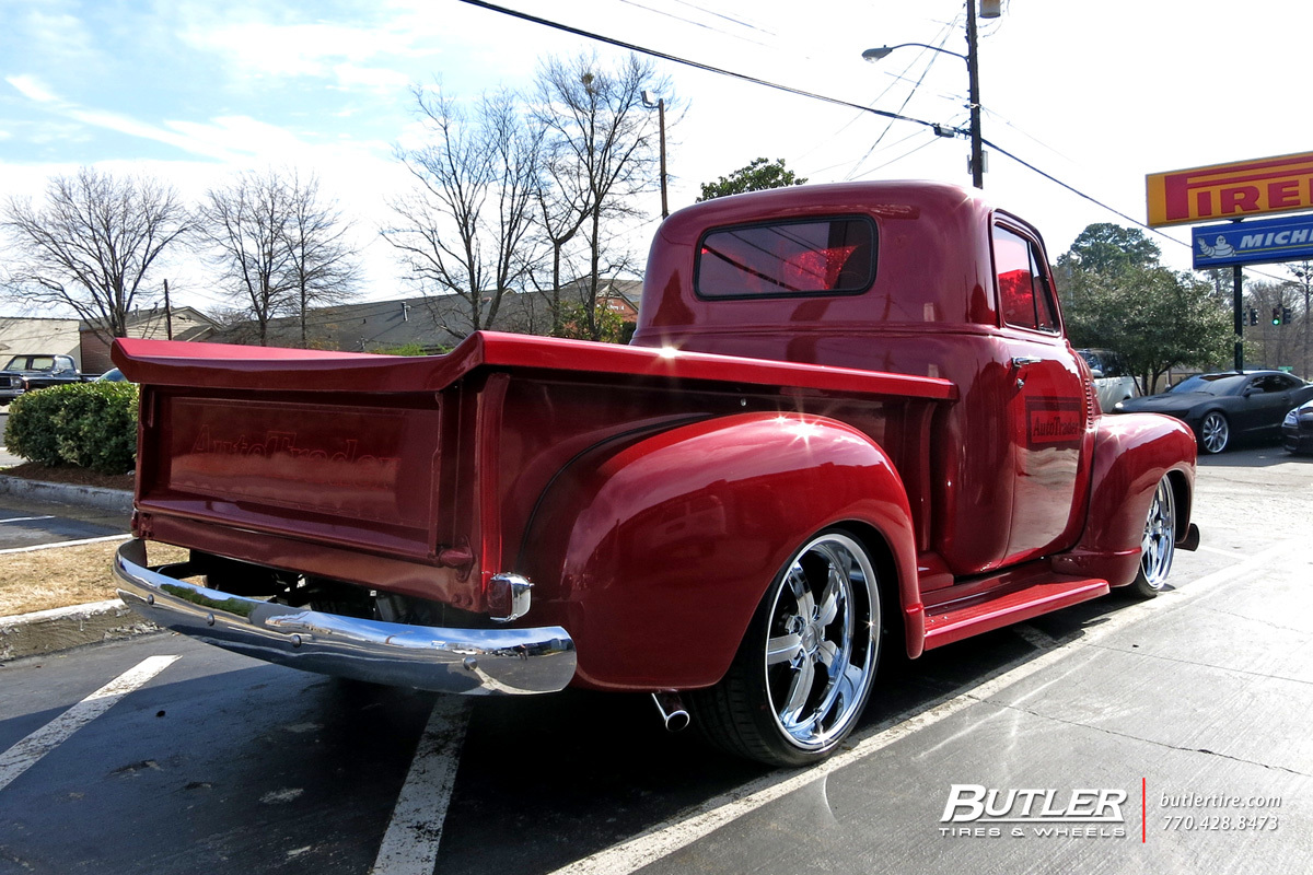 Chevrolet Redster with 20in Huntington Bolsa Wheels