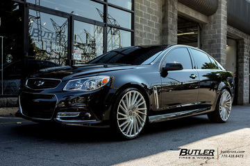 Chevrolet SS with 22in Lexani Wraith Wheels