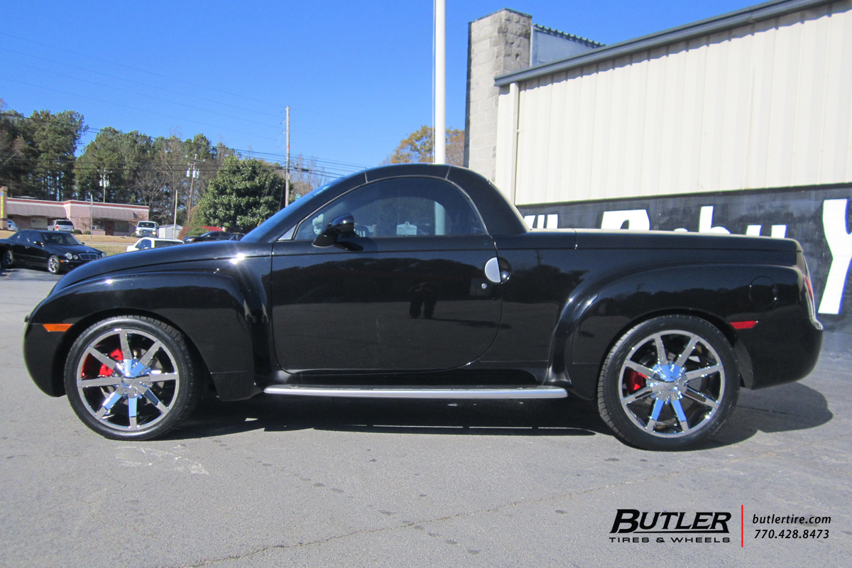 Chevrolet SSR with 22in KMC Slide Wheels