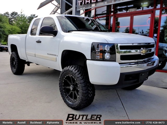 Chevrolet Silverado With 20in Black Rhino Moab Wheels Exclusively