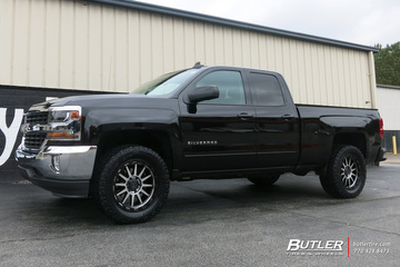 Chevrolet Silverado with 20in Black Rhino Revolution Wheels