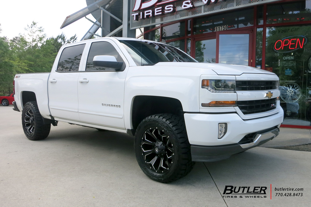 Audi Of Atlanta >> Chevrolet Silverado with 20in Fuel Assault Wheels exclusively from Butler Tires and Wheels in ...