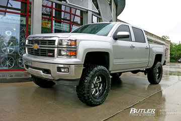 Chevrolet Silverado with 20in Fuel Flow Wheels