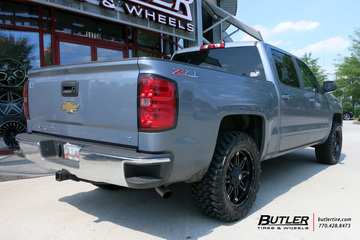 Chevrolet Silverado with 20in Fuel Hostage Wheels