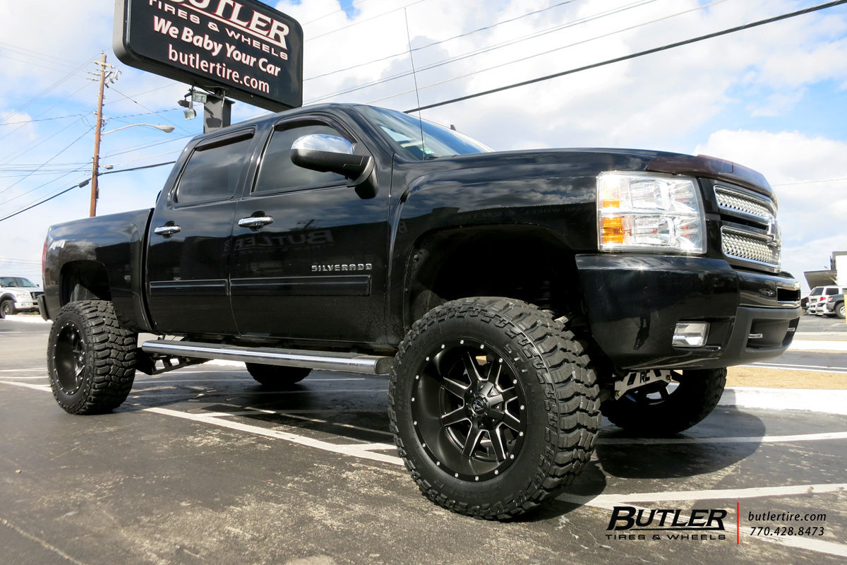 Chevrolet Silverado With 20in Fuel Maverick Wheels Exclusively From Butler Tires And Wheels In Atlanta Ga Image Number 10129