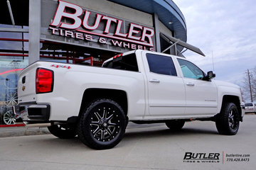 Chevrolet Silverado with 20in Fuel Maverick Wheels