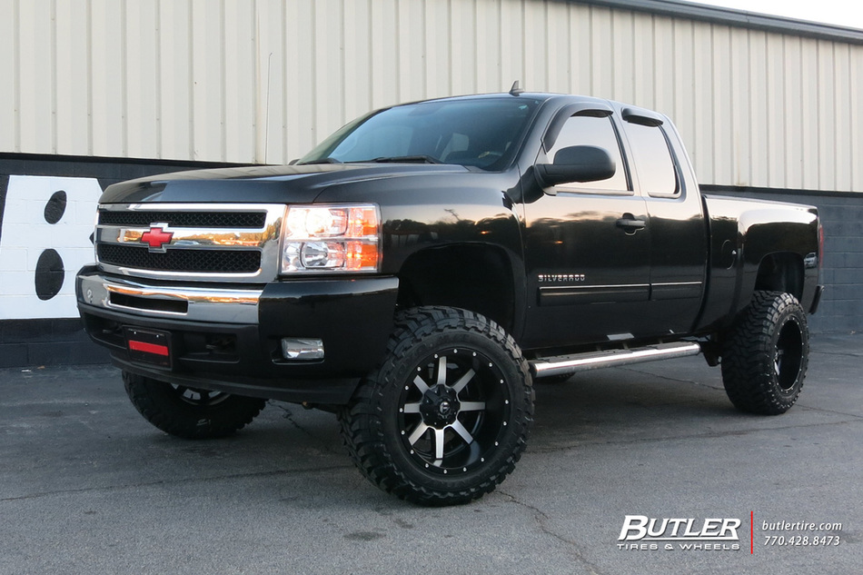 Chevrolet Silverado with 20in Fuel Maverick Wheels ...