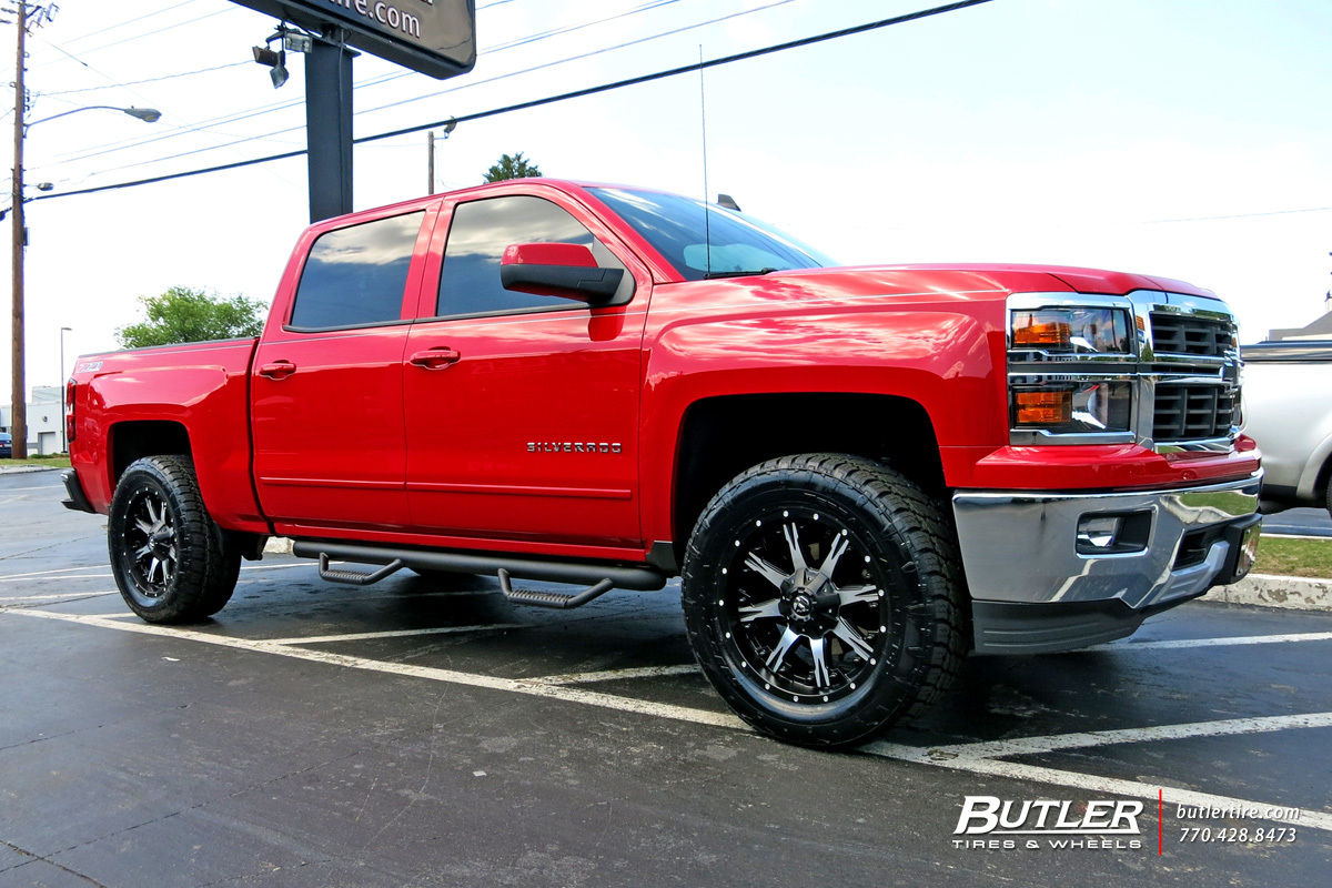 Chevrolet Silverado With 20in Fuel Nutz Wheels Exclusively