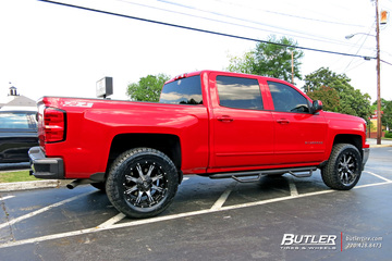 Chevrolet Silverado with 20in Fuel Nutz Wheels