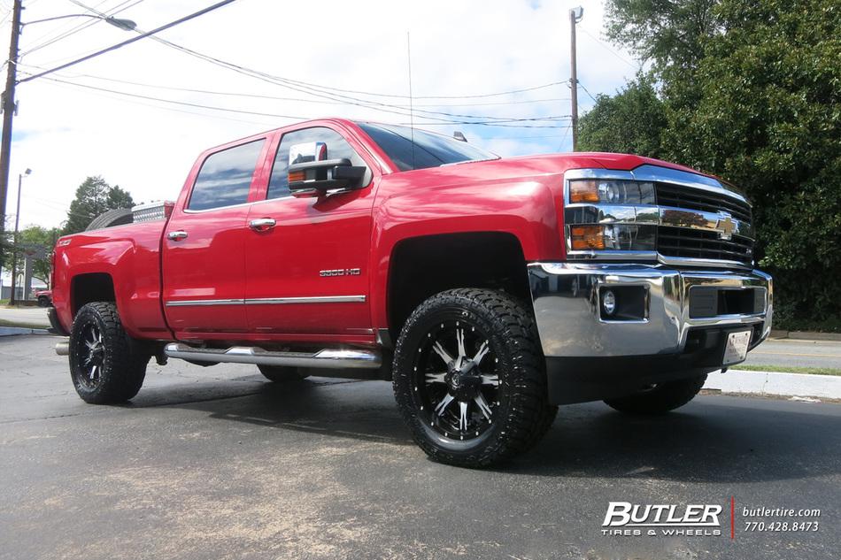 Chevrolet Silverado With 20in Fuel Nutz Wheels Exclusively