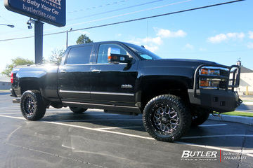 Chevrolet Silverado with 20in XD Grenade Wheels