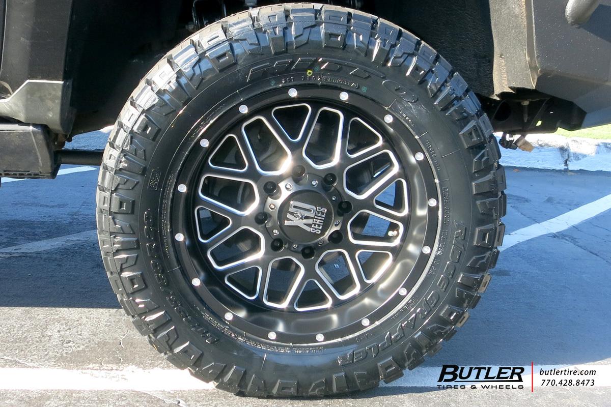 Chevrolet Silverado With 20in Xd Grenade Wheels