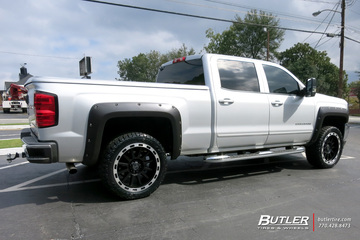 Chevrolet Silverado with 22in Black Rhino Revolution Wheels