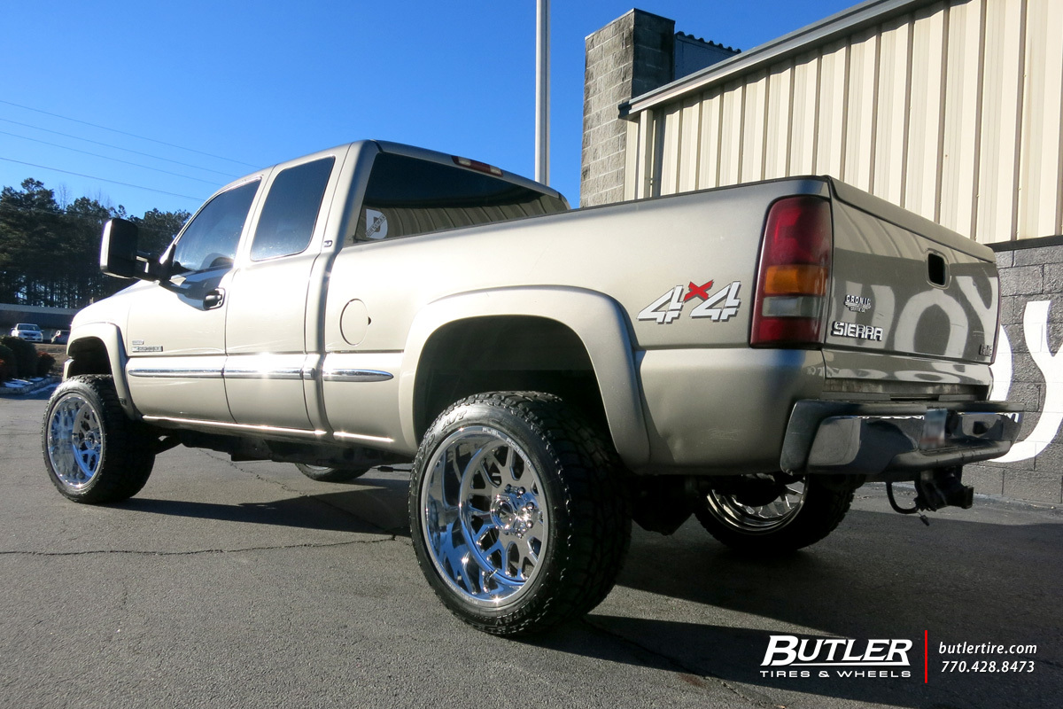 Chevrolet Silverado with 22in Fuel FF19 Wheels