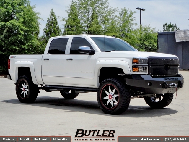 Chevrolet Silverado with 22in Fuel Octane Wheels